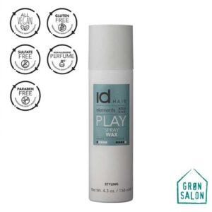 Ceara lichida Spray Wax Elements Xclusive este o ceara lichida cu pulverizare recomandata tuturor tipurilor de par. Spray Wax da textura si naturalete.