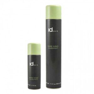 Fixativ cu fixare foarte puternica Hard Hold Hairspray Me IdHAIR este recomandat pentru toate tipurile de par. Are uscare rapida si nu incarca parul.