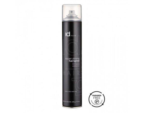 Fixativ cu fixare puternica Super Strong Hairspray este cu fixare puternica recomandat pentru toate tipurile de par. Mentine coafura in forma dorita.