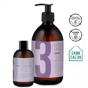 Sampon utilizare zilnica pentru toate tipurile de par Solutions No.3 IdHAIR este un sampon care mentine echilibrul scalpului.