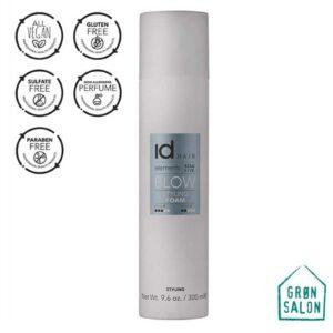 Spuma cu fixare medie Styling Foam Elements Xclusive de la IdHAIR este o spuma hranitoare destinata tuturor tipurilor de par. Pentru par umed sau uscat.