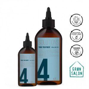 Tratament Tonic Solutions No.4 pentru toate tipurile de scalp IdHAIR este un tratament pentru combaterea ciupercilor, mancarimii si matreata.